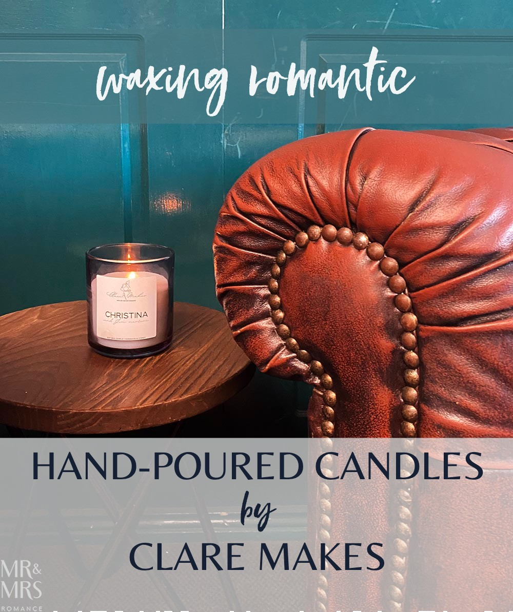 Clare Makes candle - Christina and Jim Martini