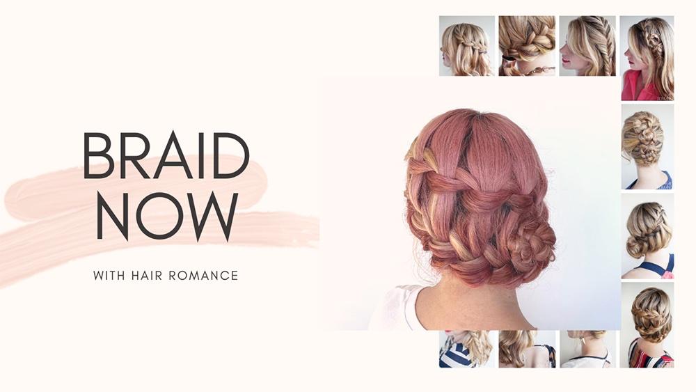 Hair Romance - Braid Now video e-course