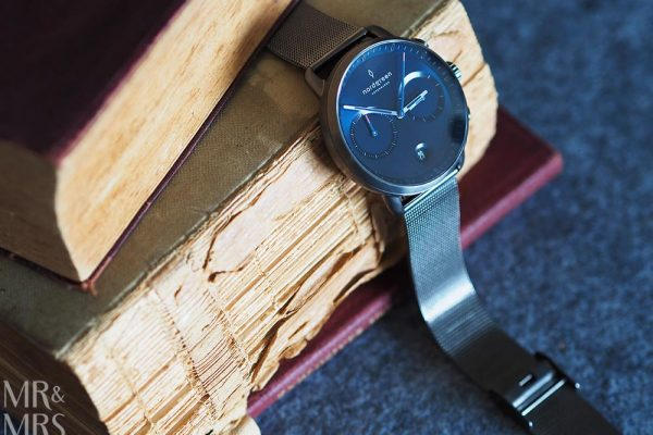 Nordgreen watch - Pioneer navy and gunmetal - romantic gifts