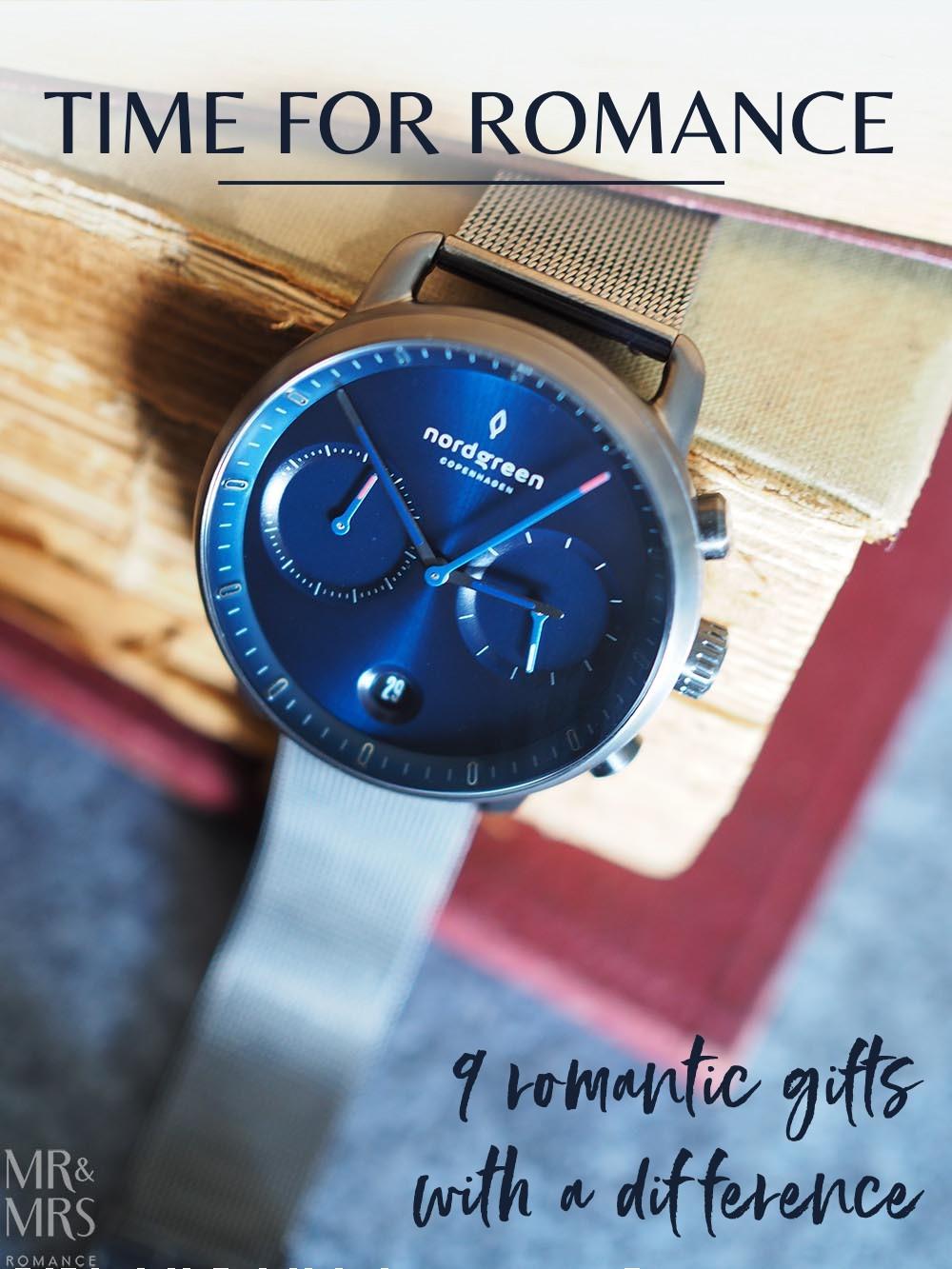 Nordgreen watch - Pioneer navy and gunmetal - romantic gifts