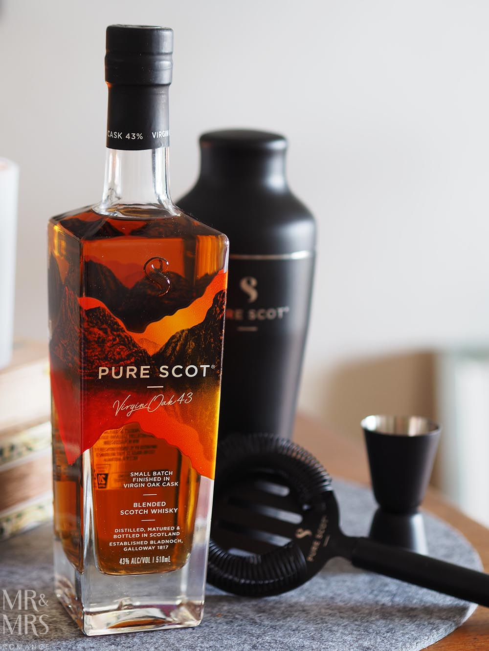 Romantic gifts - Pure Scot cocktail kit