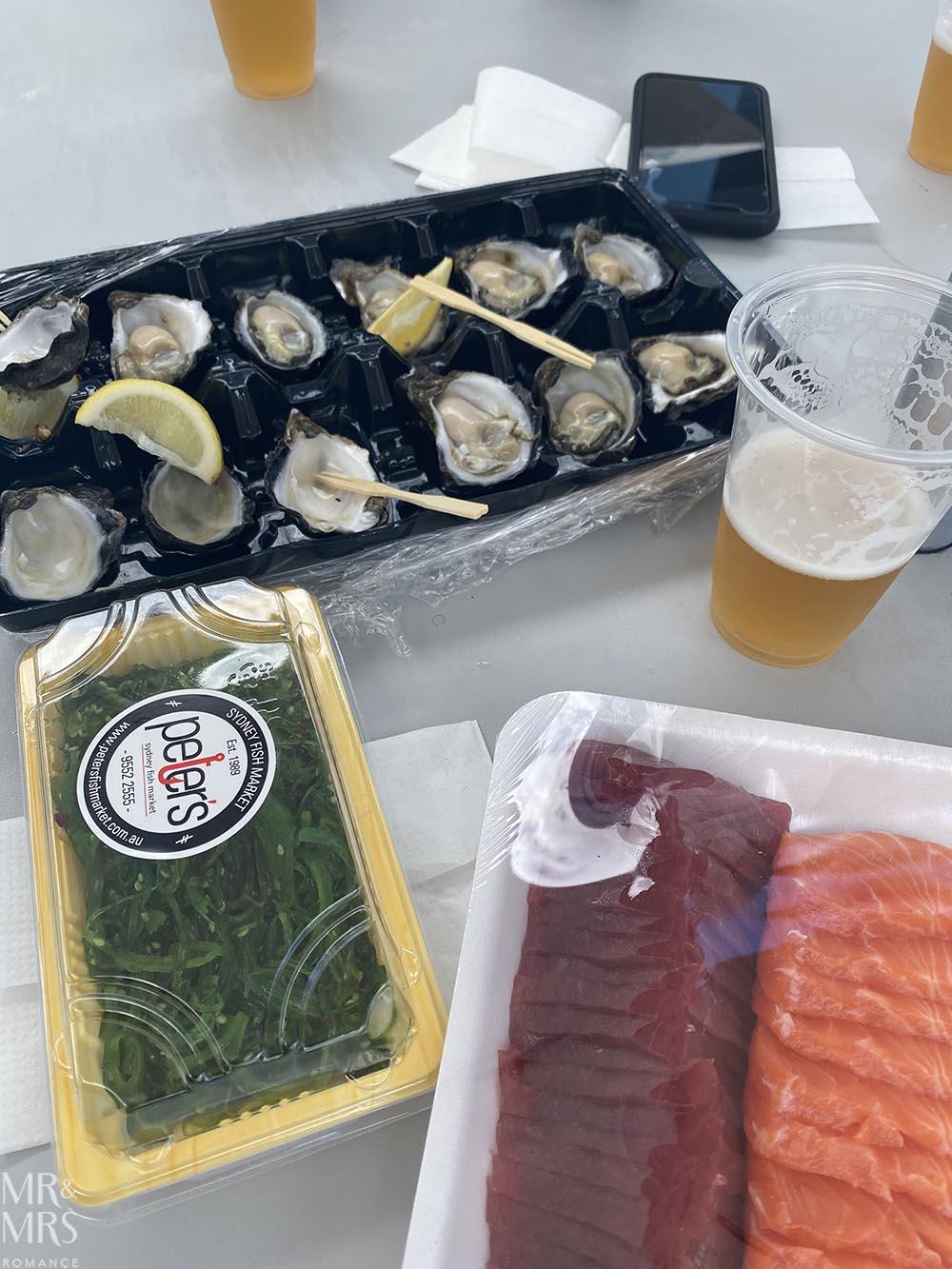 Sydney Fish Markets feast