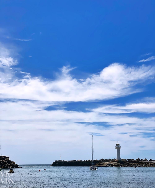 Wollongong harbour beach