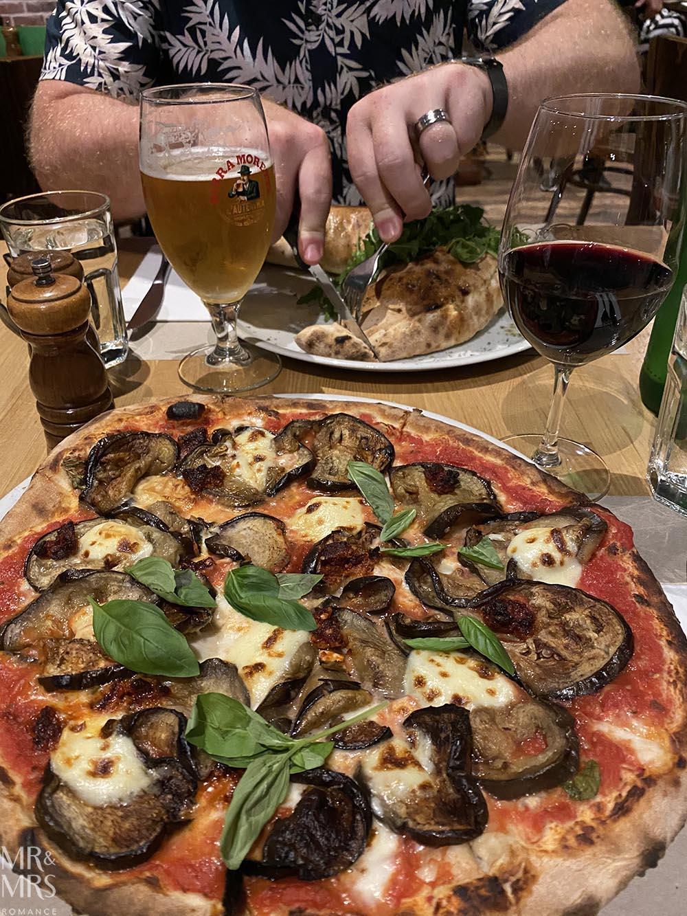 Post cinema pizzas