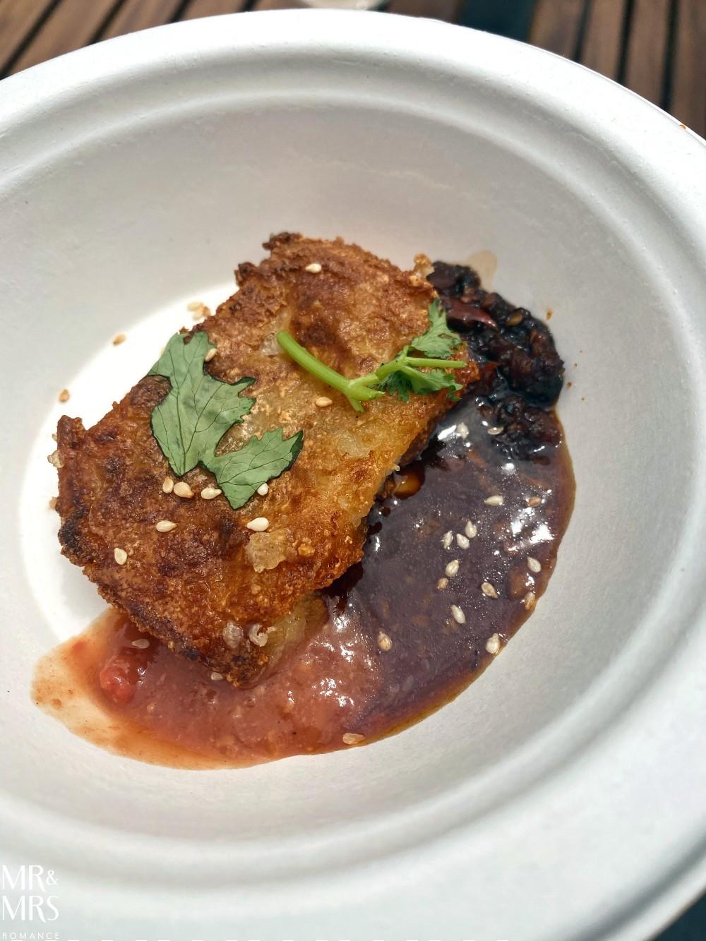Hurstville food tour with Taste Cultural Food Tours - radish cake