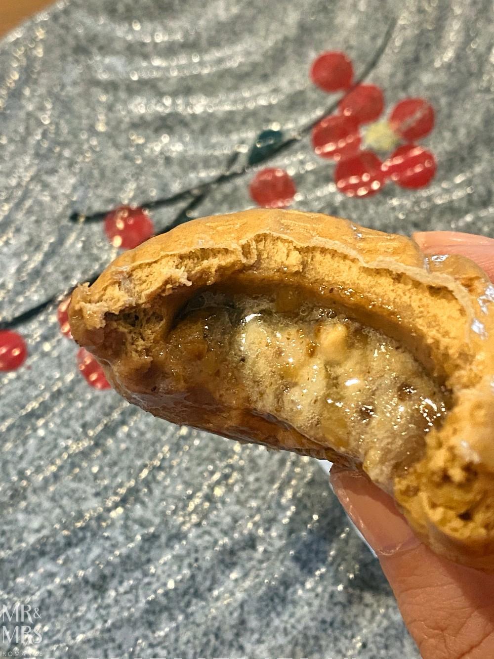 Hurstville food tour with Taste Cultural Food Tours - inside walnut bao