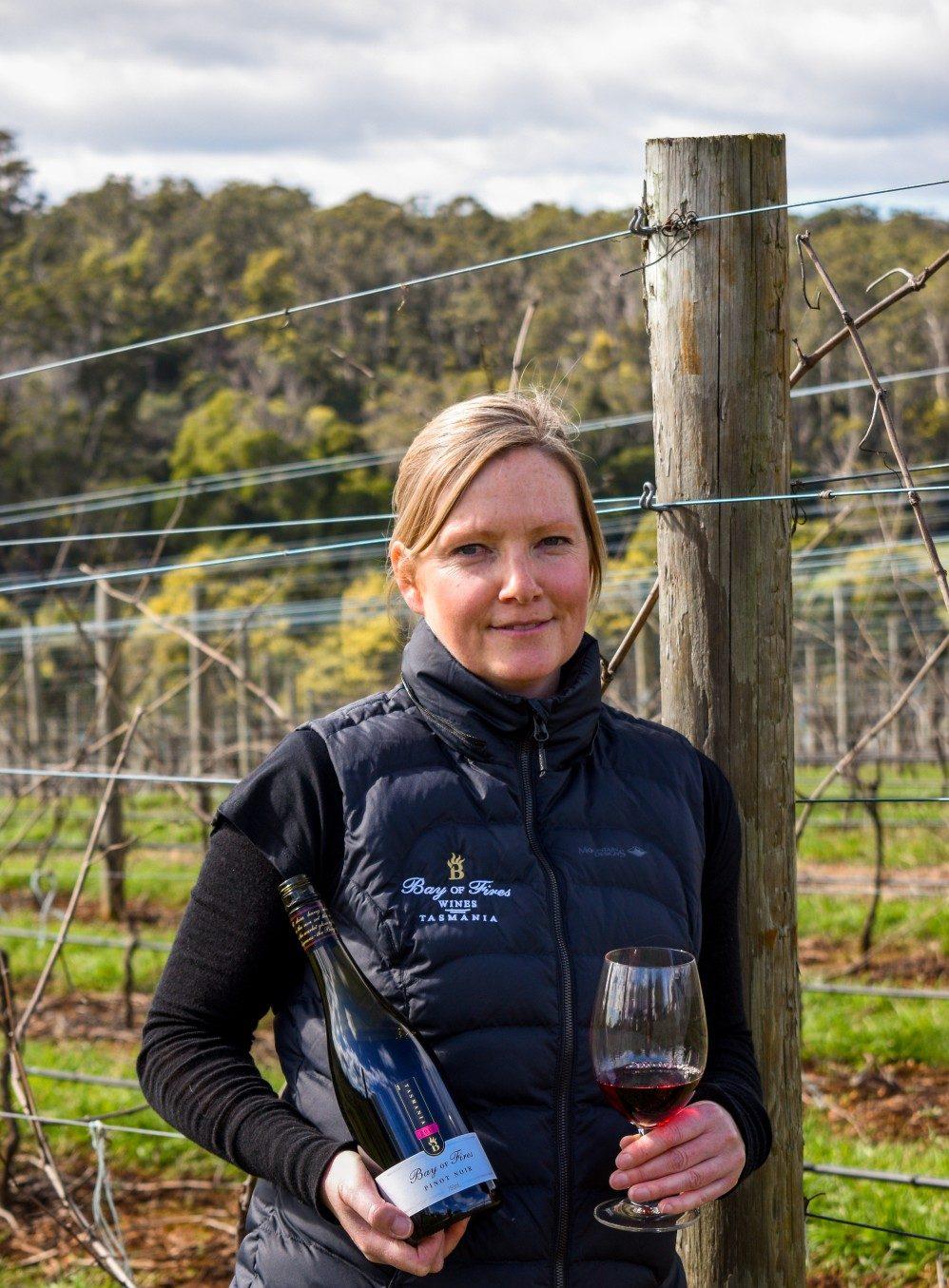 International Women's Day - Penny Jones Bay of Fires Winery
