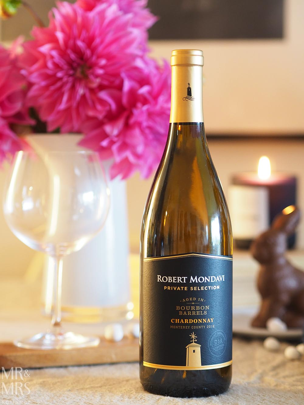 Wine for Easter - Robert Mondavi Pirvate Selection Chardonnay aged in Kentucky Bourbon barrels