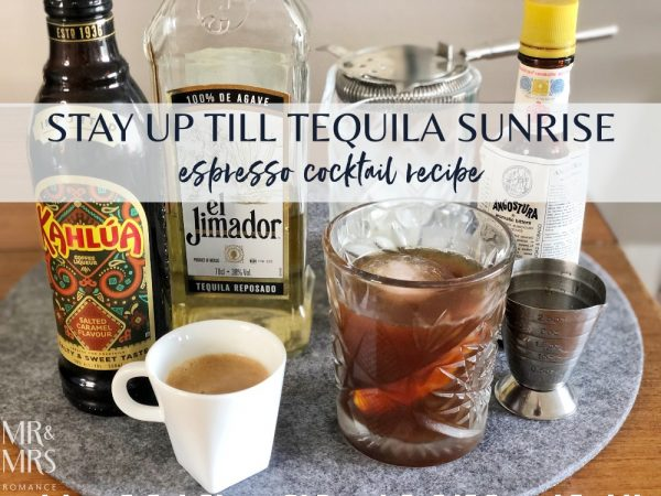 Espresso tequila cocktail recipe x Jura S8 Coffee Machine