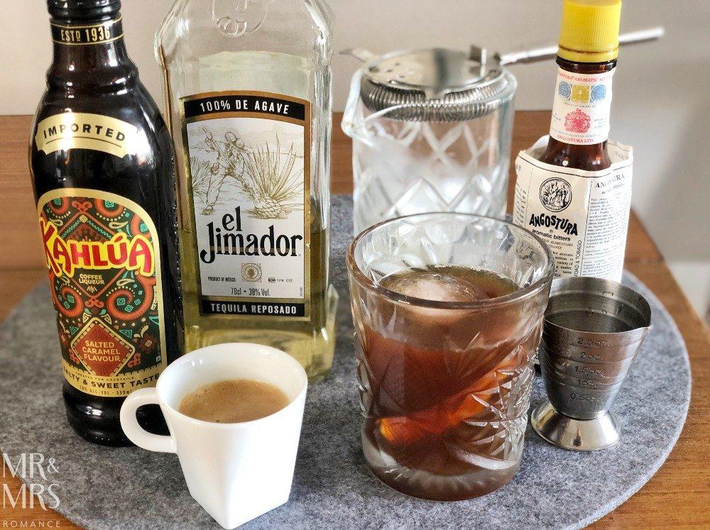 Espresso tequila cocktail recipe x Jura S8 Coffee Machine