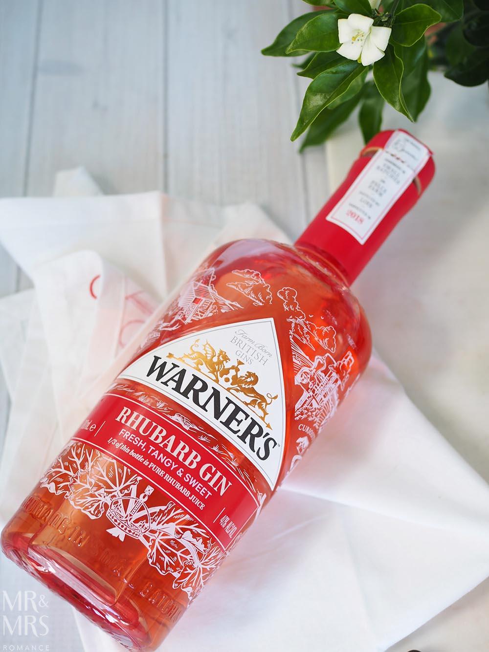 Eton mess recipe - Warner's rhubarb gin
