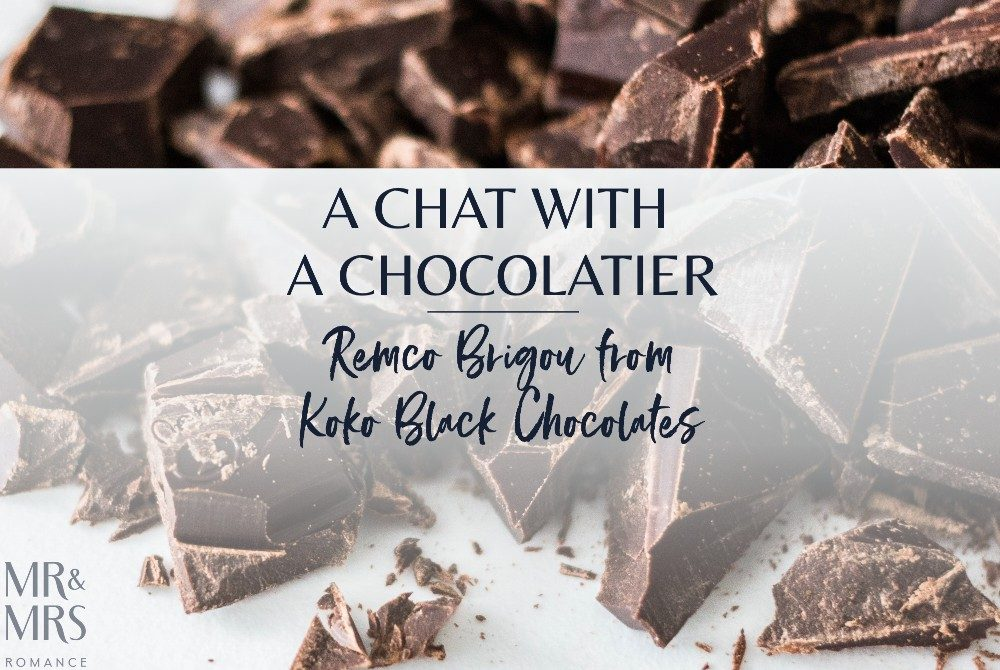 Koko Black Chocolates - Remco Brigou chocolatier interview