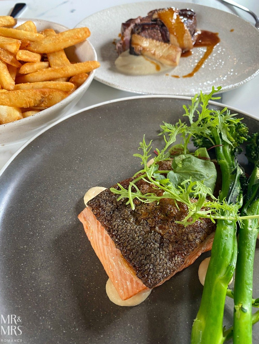 The Fenwick - trout, steak and chips