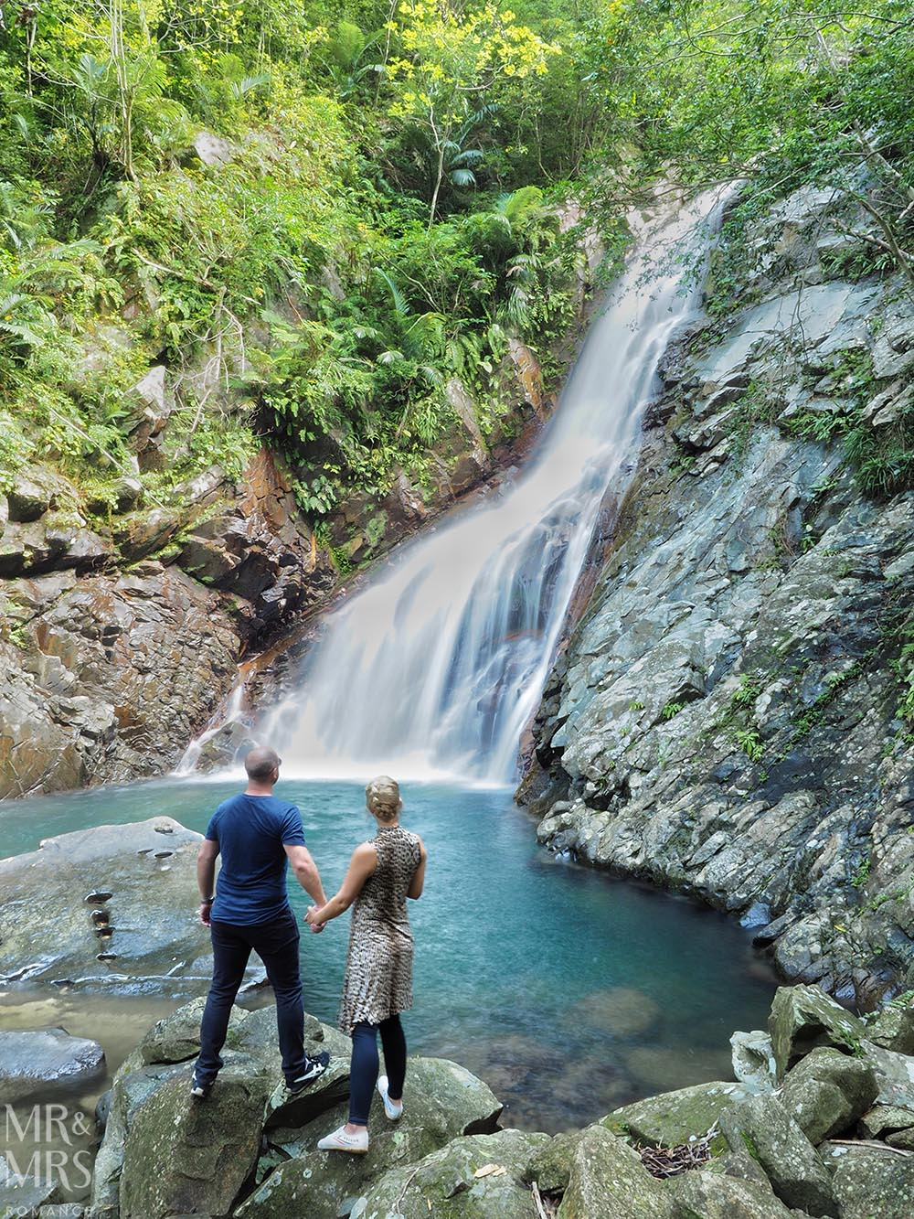 Okinawa waterfall