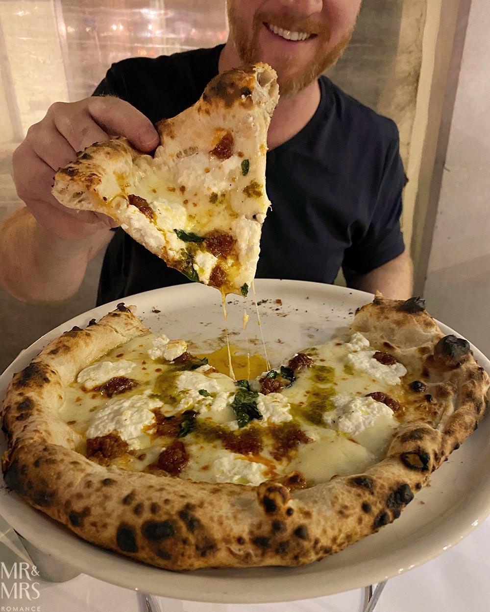 Lucio Pizzeria Sydney - pizza slice