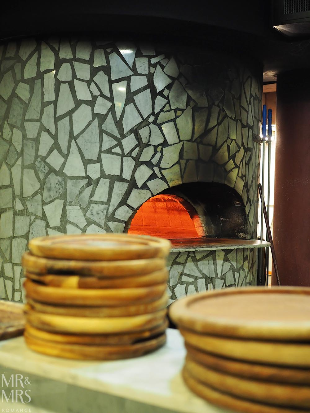 Lucio Pizzeria Sydney - pizza oven