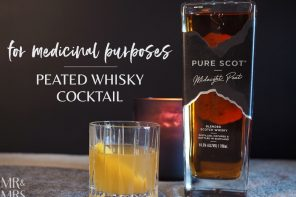 How to make this peated whisky cocktail from an old family recipe