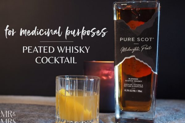 Peated Whisky Cocktail