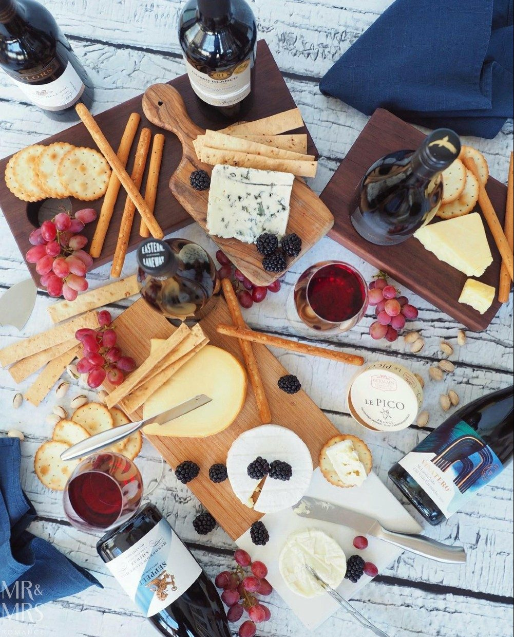 Weekly Edition - cheese and wine platter