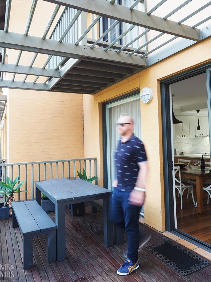 Where to stay in the Hunter Valley - Oaks Cypress Lakes Resort - 2-bedroom villa veranda