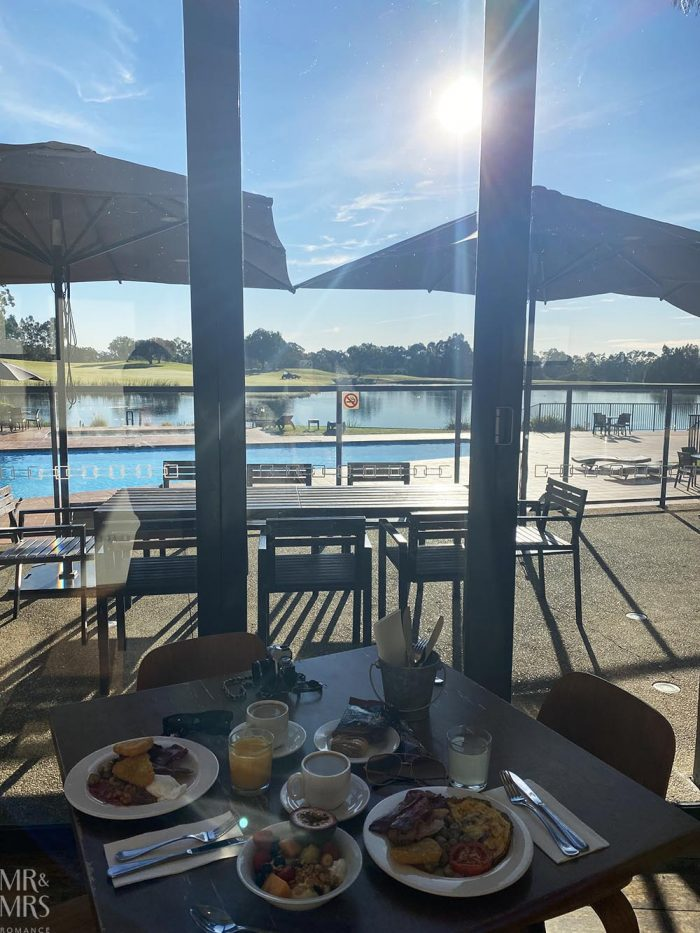 Where to stay in the Hunter Valley - Oaks Cypress Lakes Resort - breakfast