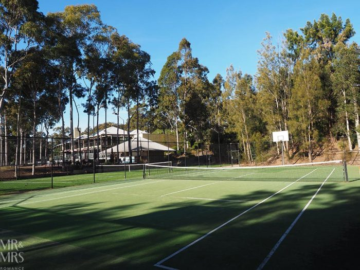 Where to stay in the Hunter Valley - Oaks Cypress Lakes Resort - tennis courts