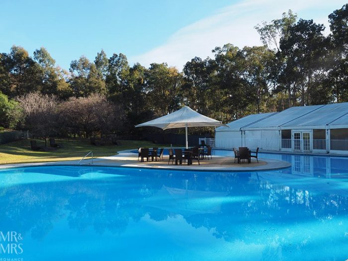 Where to stay in the Hunter Valley - Oaks Cypress Lakes Resort - lagoon pool