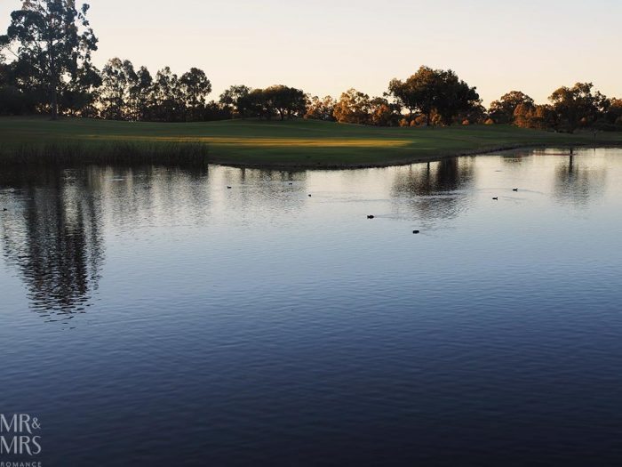 Where to stay in the Hunter Valley - Oaks Cypress Lakes Resort - lake