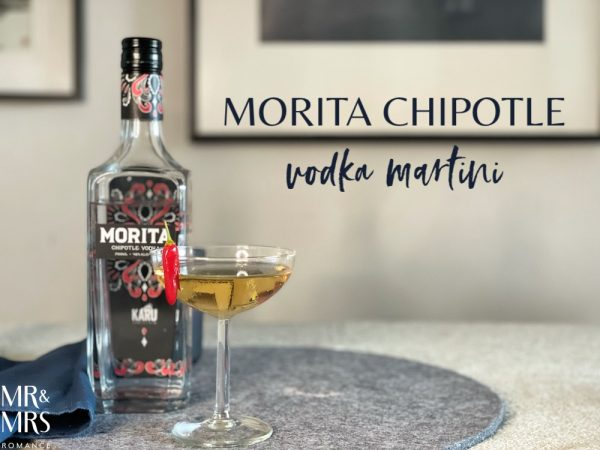 Morita chipotle mole vodka Mexican martini recipe - Mr & Mrs Romance