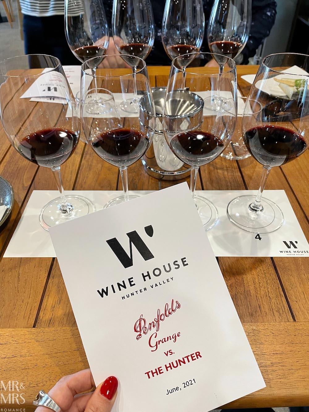 Wine House Hunter Valley - Penfolds vs the Hunter #HVWFF21