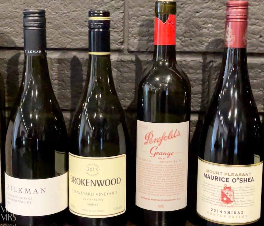 Wine House Penfolds v Hunter wines #HVWFF21