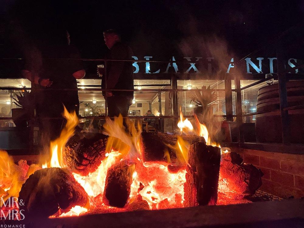 Blaxlands Inn First Fire dinner #HVWFF21