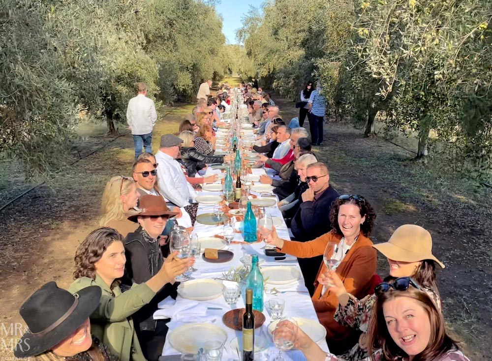 Whispering Brook Olive Long Table Lunch #HVWFF21