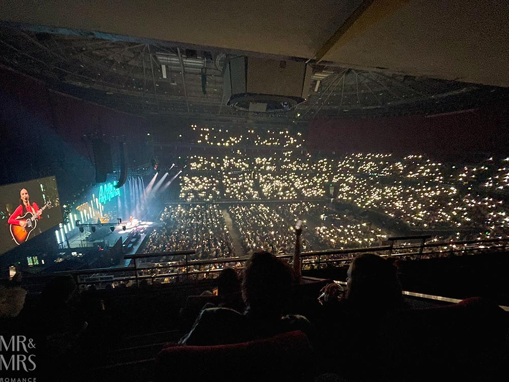 ALL Accor Live Limitless executive suite at Qudos Bank Arena - Amy Shark Cry Forever