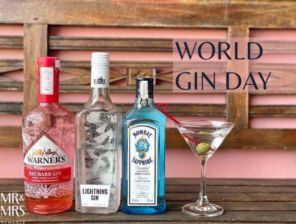 World Gin Day - Bombay Sapphire, Warner's and Karu gin