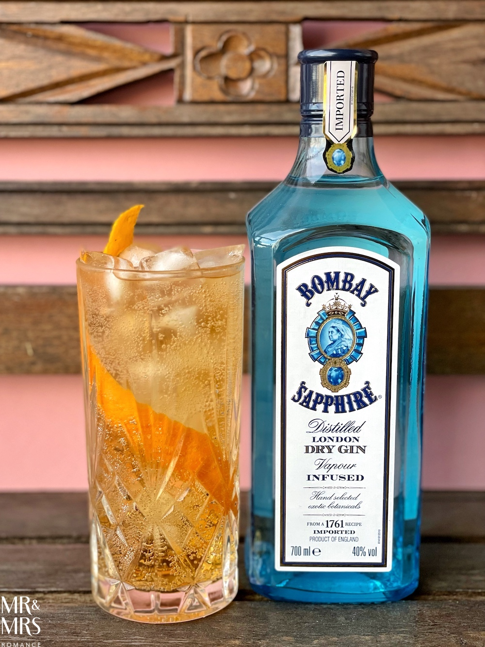 World Gin Day - Bombay Sapphire cocktail