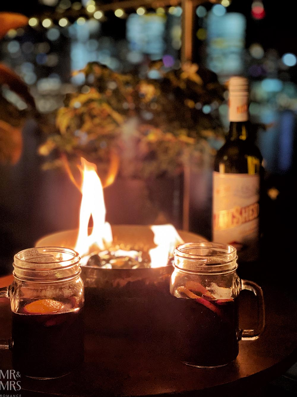 Mulled win, Jam Shed and fire pit