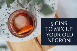 5 gins to mix up your old negroni