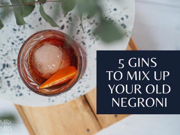 Negroni cocktail gin