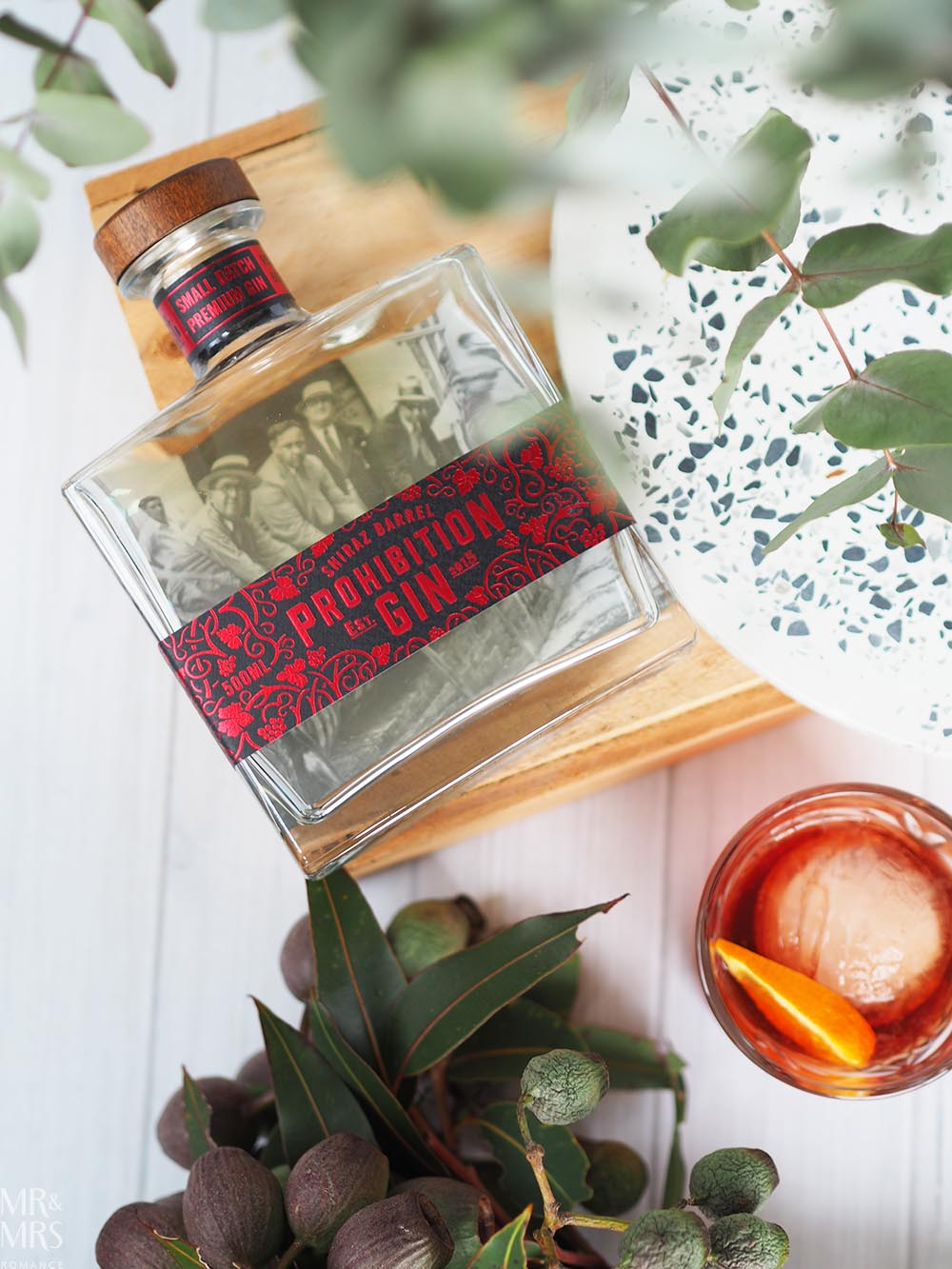 Negroni cocktail Prohibition Shiraz Barrel Aged gin