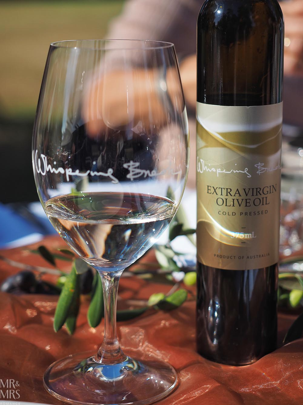 Whispering Brook Estate Olive Long Table Lunch, Hunter Valley - Mr & Mrs Romance - Artino and olive oil