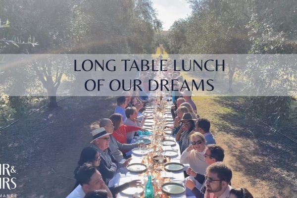 Whispering Brook Olive Long Table Lunch - Hunter Valley