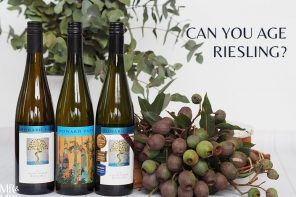 Can you age Riesling and what is a vertical tasting? Museum releases from Howard Park Wines, WA