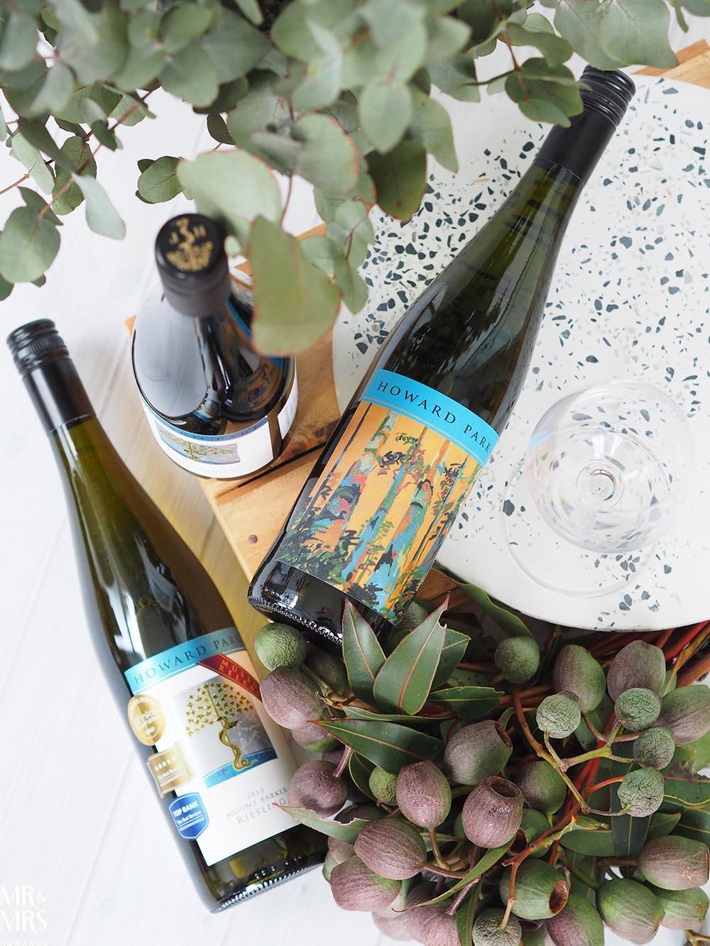 Vertical wine tasting - Howard Park Riesling Western Australia