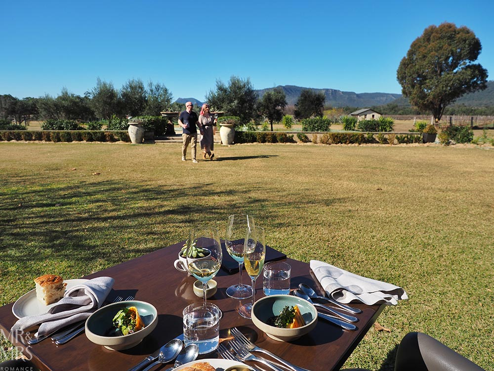 Lunch at Margan Wines Hunter Valley Winery