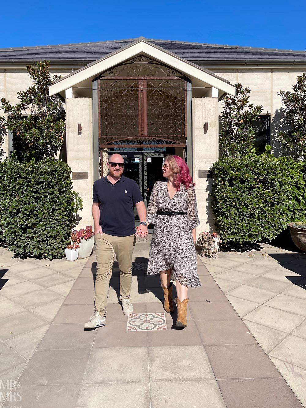 Margan Wines Hunter Valley Winery - Jim & Christina Mr and Mrs Romance