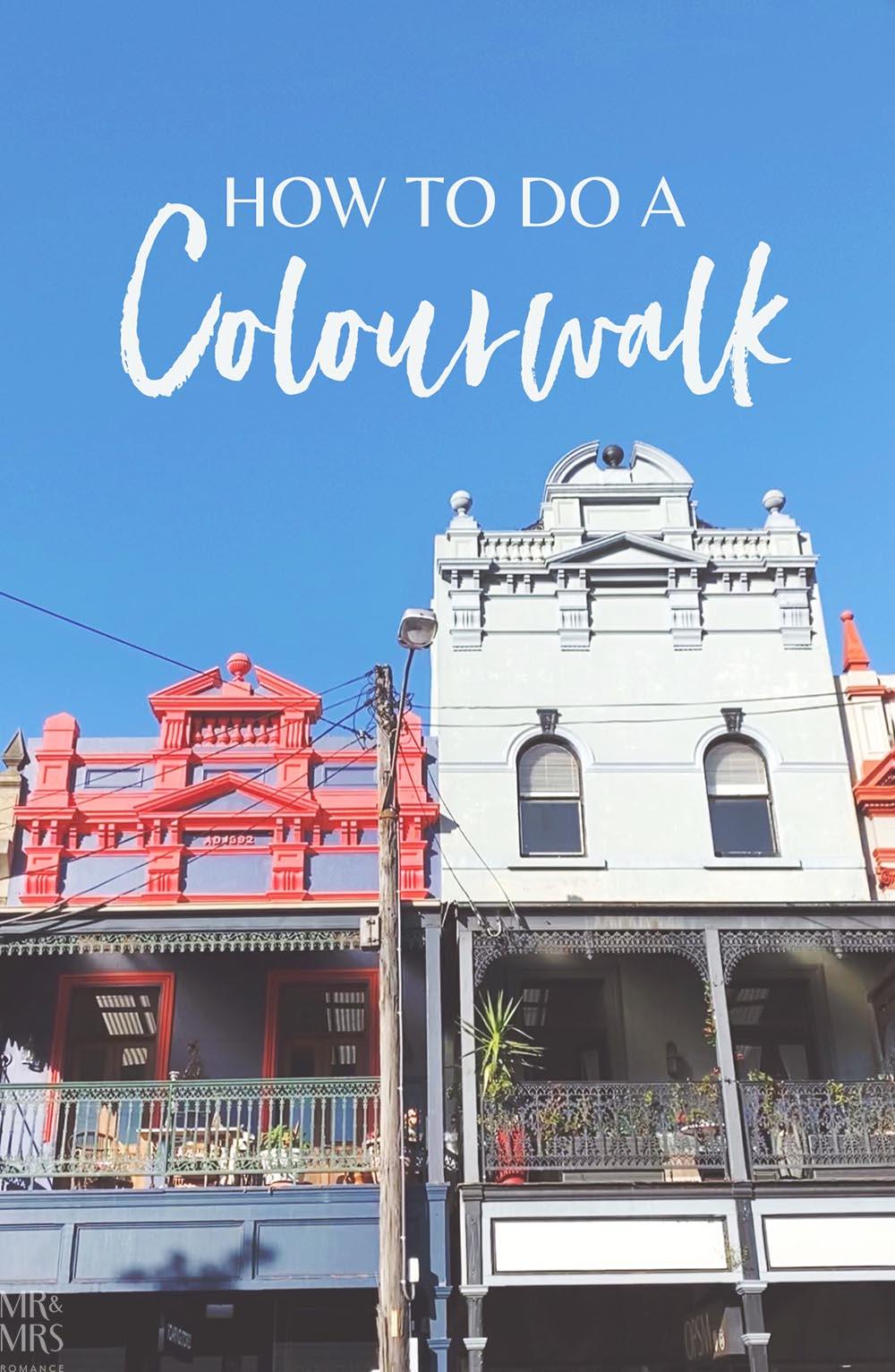 Victorian shops Balmain Colourwalk