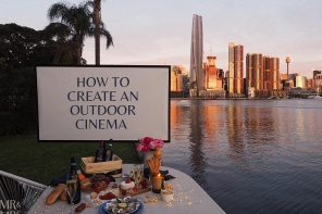 How to create your own DIY open-air cinema at home