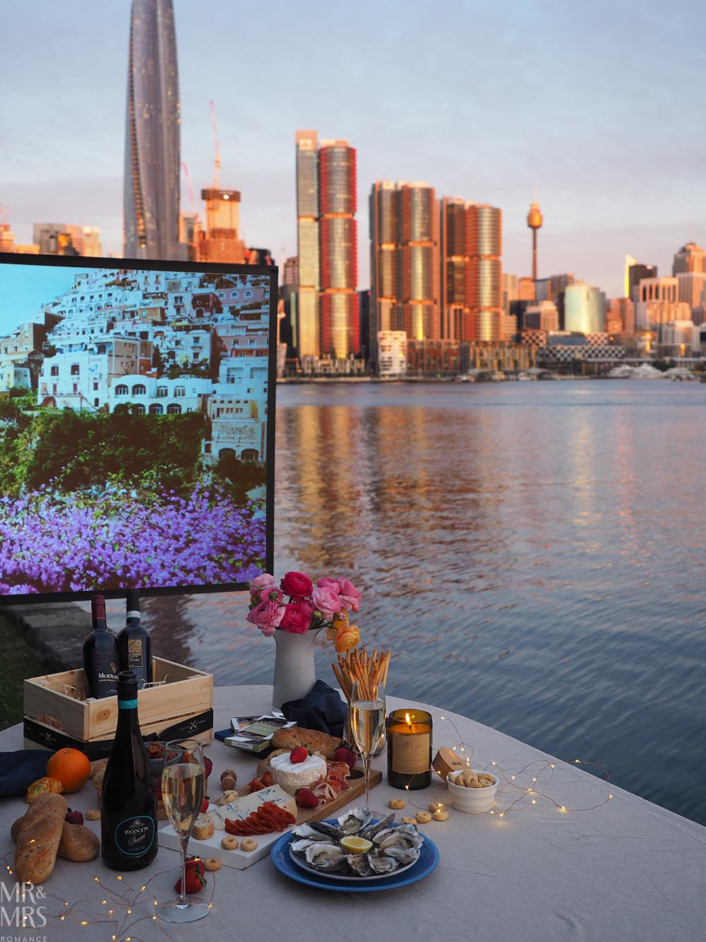 How to make DIY outdoor open-air cinema at home